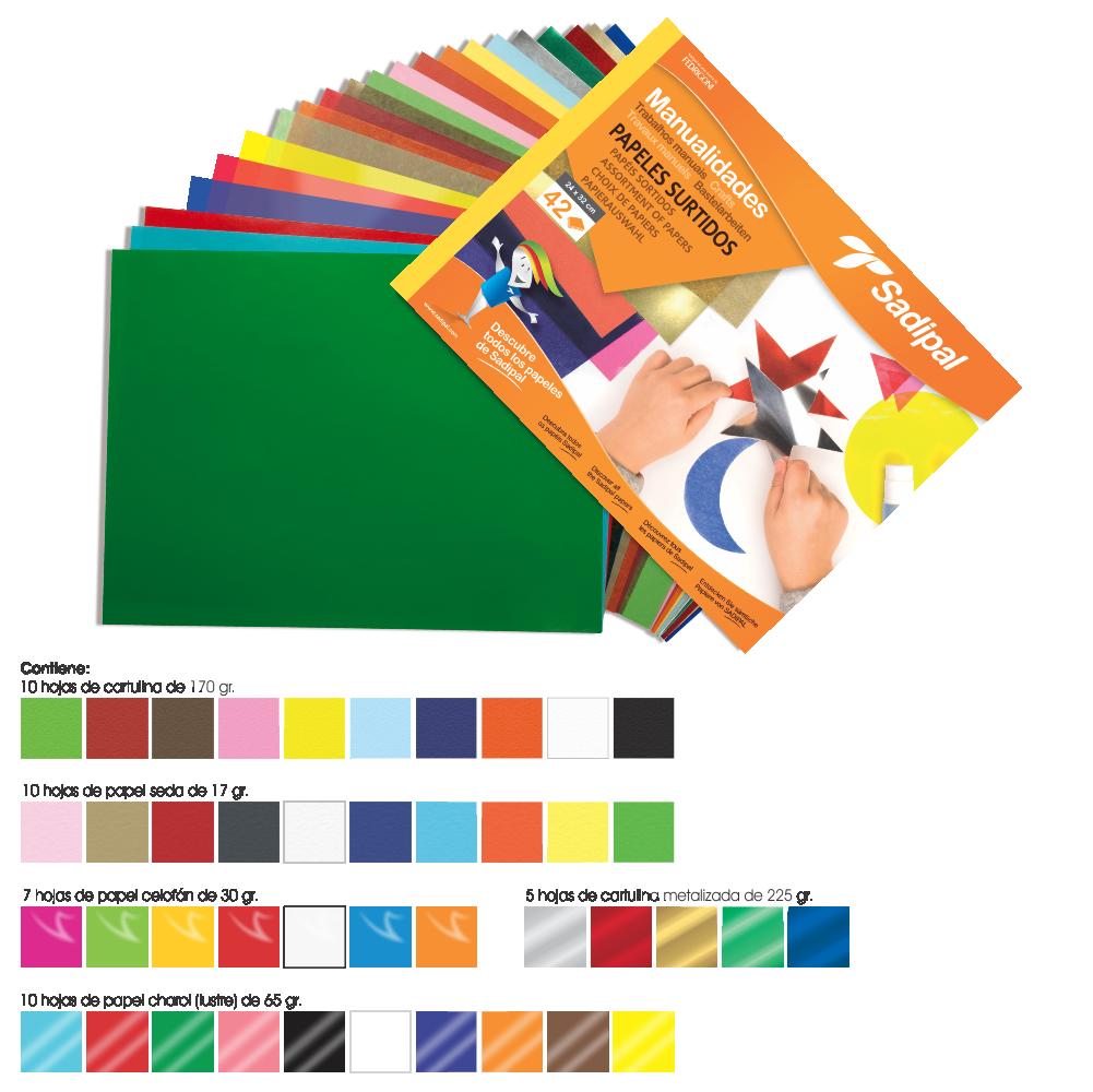Block papeles surtidos block de papeles surtidos - Papeles vinilicos catalogo ...