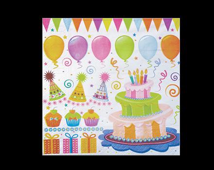 Servilleta Cumpleaños
